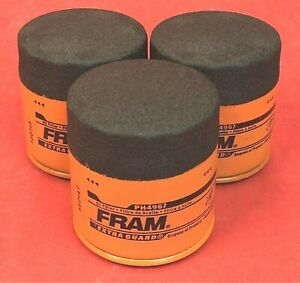 Lot of 3 oil filters Fram Extra Guard - PH4967