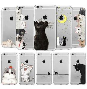 Détails sur Coque Souple en Gel silicone pour Iphone 6 et 6S , etui , Chat , lol cat