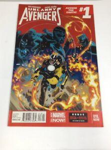 Uncanny-Avengers-18-Avenge-The-Earth-1-Marvel-Comics-May-2014-VF-Rick-Remender