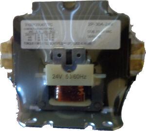 Double Pole 2 pole HvacContactor 30 amp 24vac 50/60hz Definite Purpose Magnetic