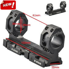 25mm-30mm Scope Ring Mount QD Auto Lock Fit Weaver Picatinny 20mm Rail For Rifle