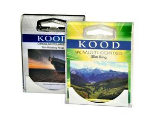 Kood-Circular-Polariser-amp-UV-Multicoated-Filter-Set-28mm-C-PL-UVMC-CPL-28mm