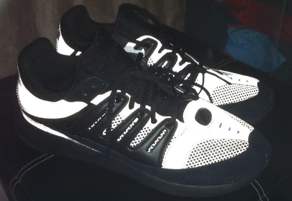 Adidas original tubular 93 triple CORE nero  3m reflective S82514 boost doom