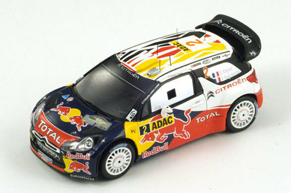 SPARK Citroen DS3 WRC No.2 Winner German Rally Rally Rally 2011 Ogier - Ingrassia S3322 1 43 a2fb29