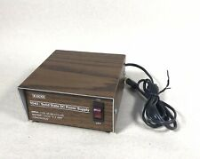Eico Solid State Dc Power Supply 1040 Wood Grain Finish 12dc Output Tested