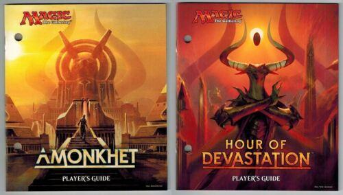 Players Guide Lot ~ AMONKHET and HOUR OF DEVASTATION ~Bundle Magic Book x2 mtg