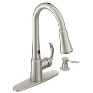 Superieur Moen Delany With MotionSense Pulldown Kitchen Faucet 87359E2SRS B2