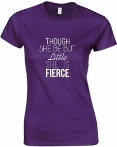 She-Is-Fierce-Ladies-Printed-T-Shirt