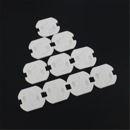 10x EU Power Socket Electrical Outlet Kids Safety AntiElectric Protector CoveFBB