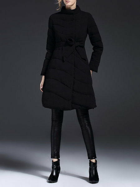 Double Breasted Breasted Breasted Belted Down Coat, NWT, 14372 9f1093