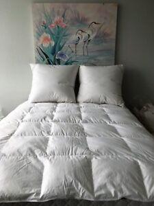 Puradown-80-Duck-Down-Euro-Continental-Pillow-80-x-80cm-Australian-Made