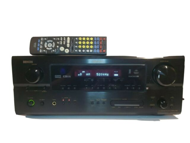 Denon AVR-2106 Multi-Zone AV Surround Receiver, No Power Cord