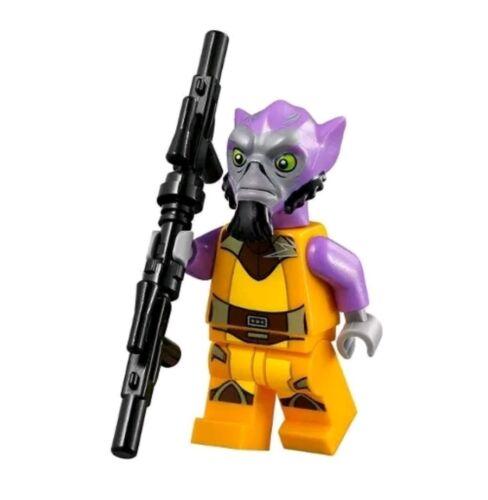 Authentic LEGO Star Wars Zeb Orrelios Minifigure sw575 75053 Lasat Rebel Garazeb