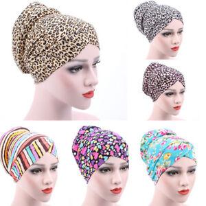 434519d6100 Amazing New Women Muslim Stretch Turban Hat Chemo Cap Hair Loss Head ...
