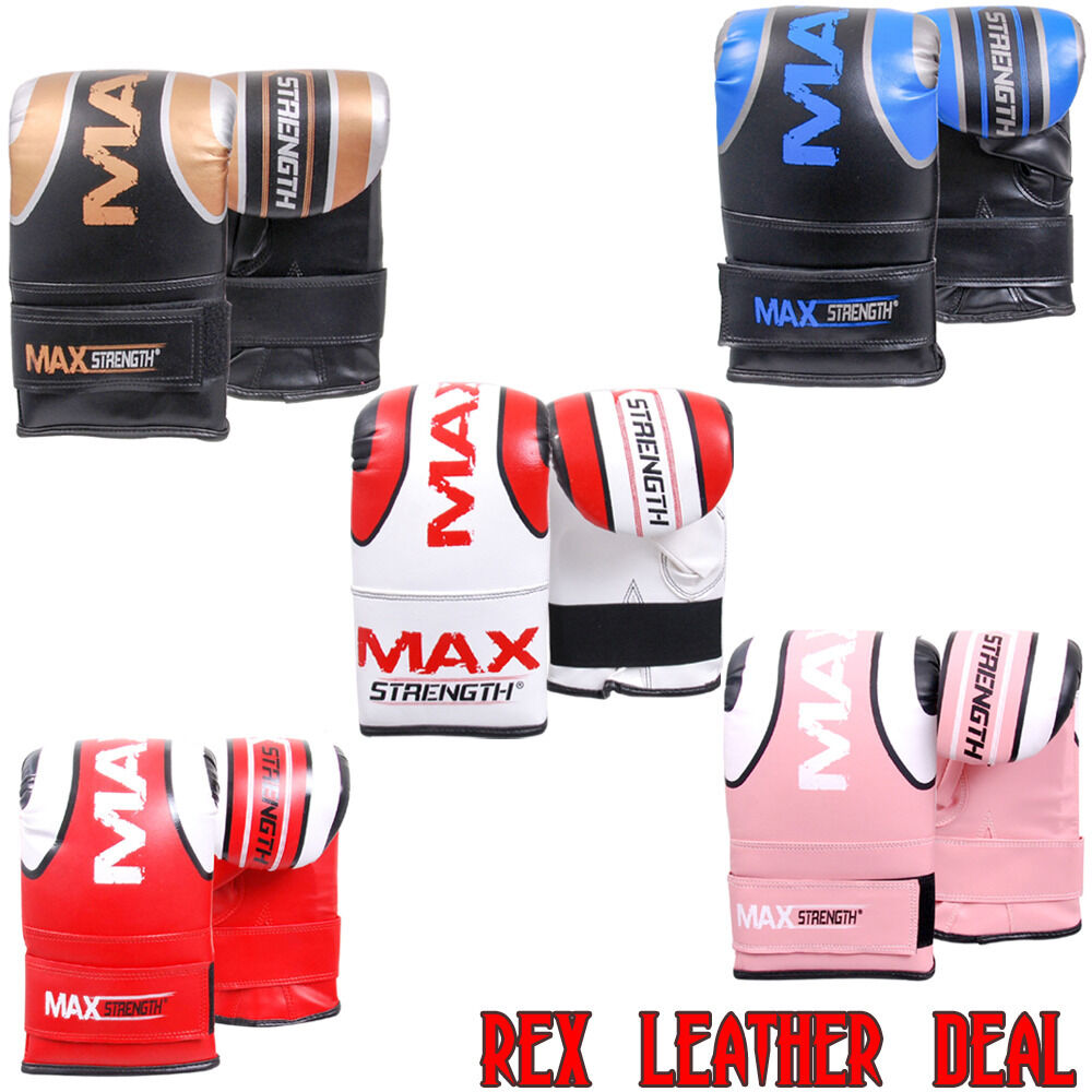 Boxen Herren Tasche Handschuhe Punch Kampf Thai Training MMA Ringen Senior