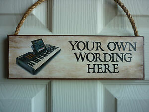 BESPOKE-SIGN-OWN-WORDING-SIGN-OWN-NAME-PLAQUE-KEYBOARD-MUSIC-ROOM-MUSICAL-GIFTS