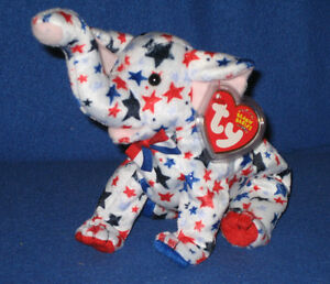 4383de2aa7a Image is loading TY-RIGHTY-2004-the-ELEPHANT-BEANIE-BABY-MINT-