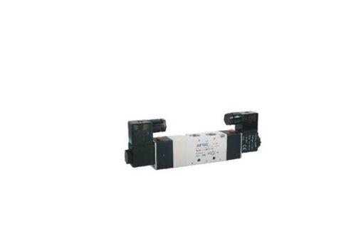 """1x 4v330e-10 5ports3position Doble Solenoide neumática de válvula de aire de 3//8 /""""Bspt Dc 12v"""
