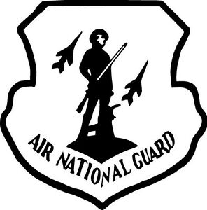 National guard coloring pages ~ AIR NATIONAL GUARD AIR FORCE ARMY VINYL DECAL STICKER 289 ...