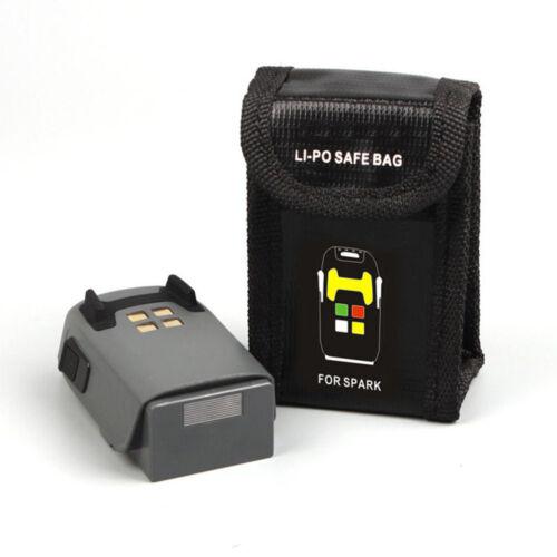 Li-Po Battery Safe Storage Bag Case Explosion-proof Pouch For DJI Spark New