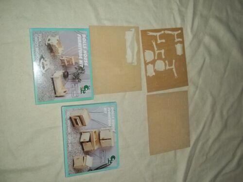 Holz Puppenküchemöbel Dolls House Furniture Kit Puppenküche Möbel zum Bauen Holzspielzeug