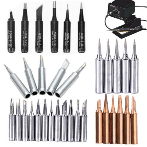 12PCS Solder Screwdriver Soldering Iron Tip for Station 900M-T Tools UK Store