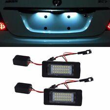 18SMD License Plate LED Light Lamp Pair For VW JETTA MK6/PASSAT B7 NMS/TOUAREG 2