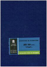 File PDF - Fiat Campagnola AR59: catalogo parti di ricambio - Leggi bene sotto!!