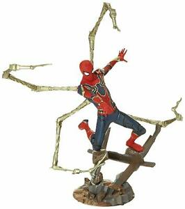 Collection Premier Marvel Avengers Infinity War Statue Spider-man en fer Diamant