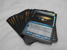 STAR TREK CCG 2E 10TH ANNIVERSARY, COMPLETE SET OF 18 CARDS, FIRST PRINTS