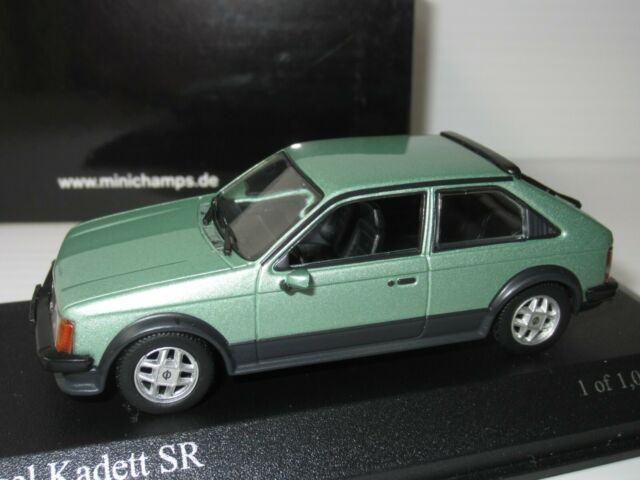 1979 orange Minichamps 1:43 Opel Kadett Saloon