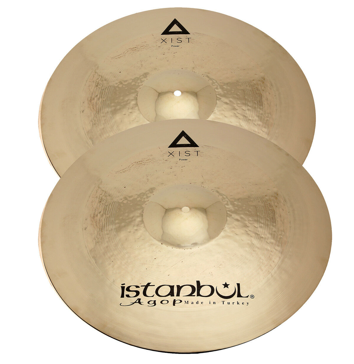 Istanbul 14  XIST POWER Hi-Hat Cymbals IXPWHB14