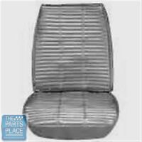 1966 Charger Pearl White Front Buckets Seat Covers - Pui