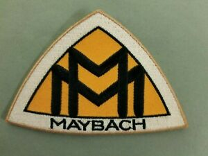 Maybach Embroidered Iron On Automotive Patch.