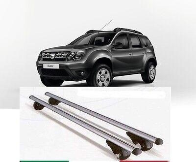 Acquista A Buon Mercato Barre Portatutto Alluminio Dacia Duster 2008 Con Serrature Antifurto Meno Caro