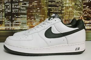 brand new f31f6 c55a4 Details about Vintage Nike Air Force 1 Co Jp Olive Green White 2000  Basketball Sneakers Sz 12