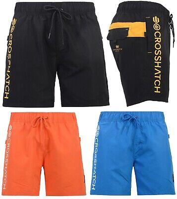 Da Uomo Crosshatch Designer Swim Pantaloncini Nuove Mesh Foderato Casual Spiaggia Nuoto Trunks-mostra Il Titolo Originale