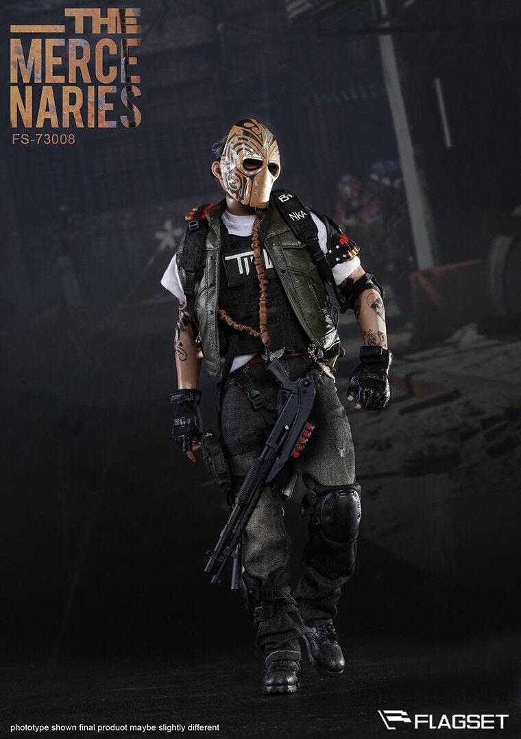 1 6 FLAGSET FLAGSET FLAGSET 73008 Masked Mercenaries 2.0 Male azione cifra giocattolo Full Set 211ce6