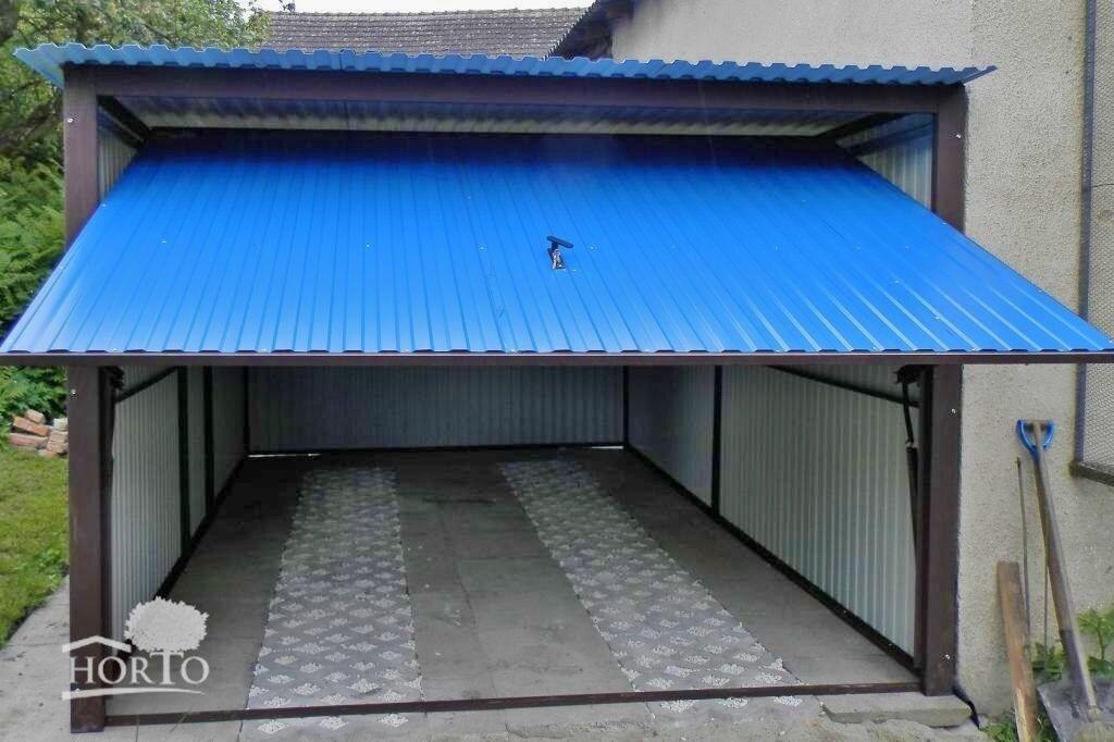 2,5x6 Blechgarage Fertiggarage Metallgarage LAGERRAUM GERÄTESCHUPPEN garage