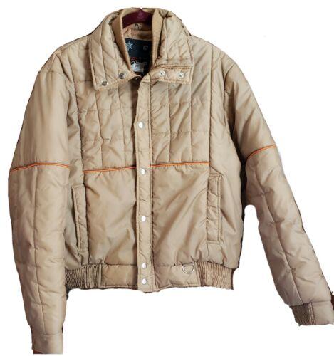 Vintage Sigallo Puffer Waterproof Ski Jacket 1970s