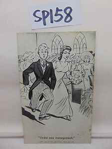 EXHIBIT-SUPPLY-COMPANY-PENNY-ARCADE-CARDS-034-UNDER-NEW-MANAGEMENT-034-MARRIAGE-WED