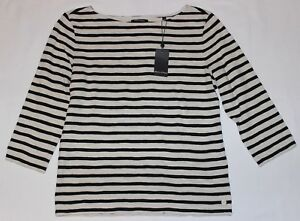 O'polo T marina Striped size naturale New 4 Navy Marc L Maritime manica Shirt 3 qqg7wFEp