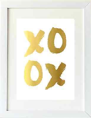 Gold Foil Print / Copper Foil A4 - Premium Quality