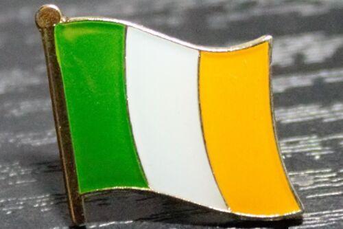 IRELAND ROI EIRE REPUBLIC OF IRELAND Metal Flag Lapel Pin Badge *NEW*