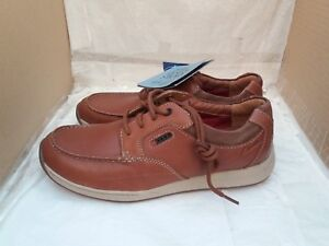Clarks Lacci Casual Scarpe Tan uk Con H In 8 Vent Actve Air Javery Pelle Time T5TYrUqw