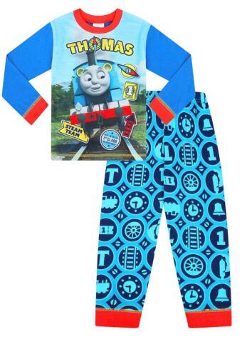 Kids Thomas The Tank Engine Pyjamas 1 to 5 Years Boys Thomas PJs W19