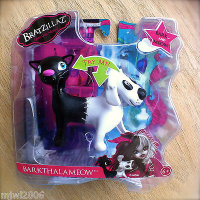 "Bratzillaz BARKTHALAMEOW Half Dog Half Cat ""I BARK AND MEOW!"" Magical Pet Bratz"