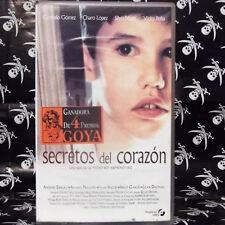 SECRETOS DEL CORAZON (Montxo Armendáriz) VHS . Carmelo Gómez, Charo López, Silvi