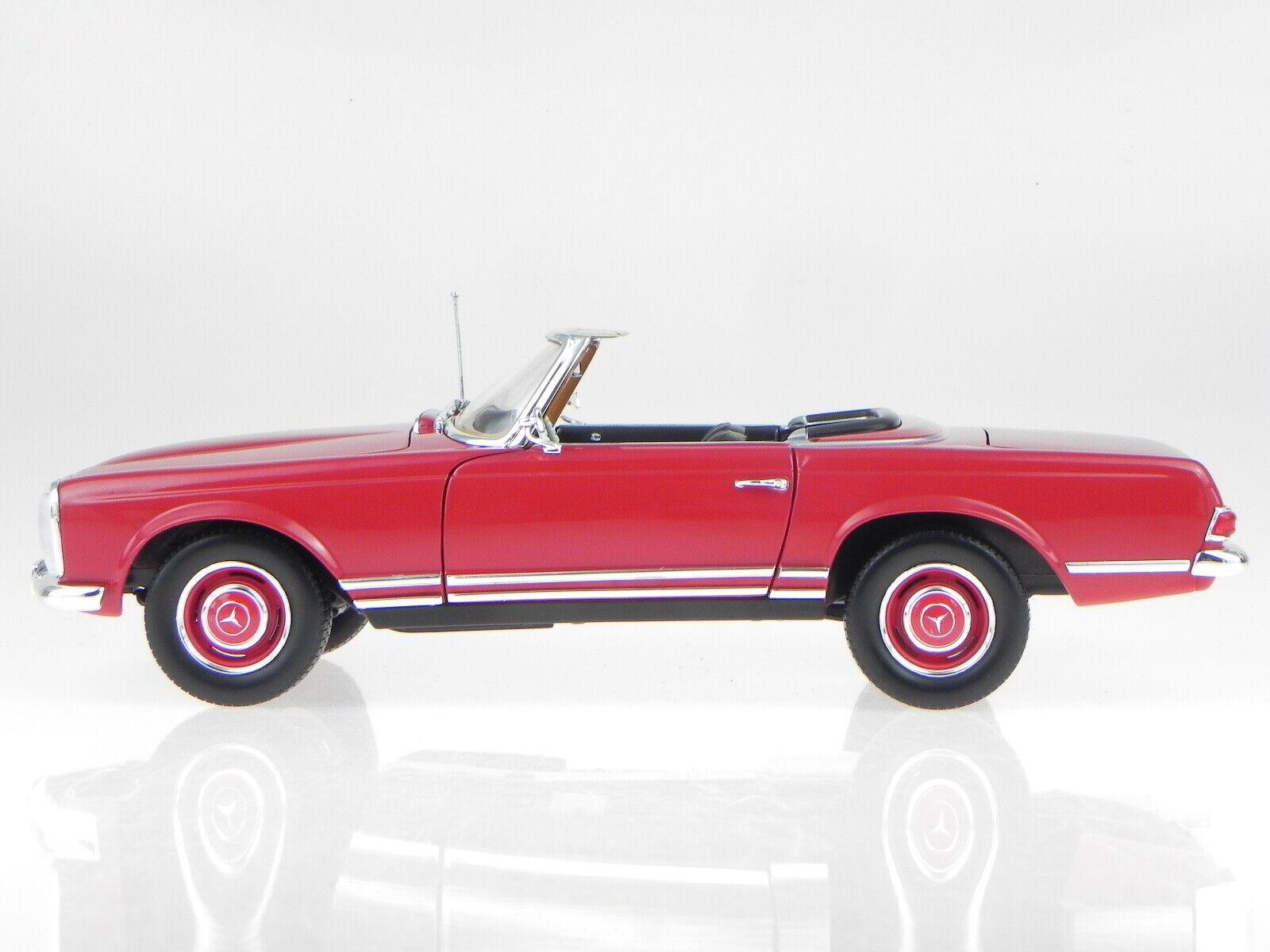 Mercedes Mercedes Mercedes R113 280SL Pagode 1969 dark  red modelcar 183520 Norev 1 18 66f544