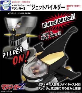 SéRieux Evolution Jouet Metal Action No.3 Mazinger Z Jet Pilder & Mazinger Z Head Black Bas Prix